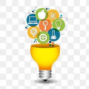 Vector Bulb - Idea Creativity Infographic PNG