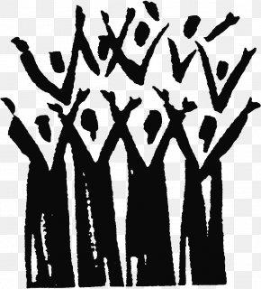 Singing - Gospel Music Choir Clip Art Singing Traditional Black Gospel PNG