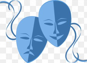 Transparent Drama Cliparts - Mask Theatre Drama Play Clip Art PNG