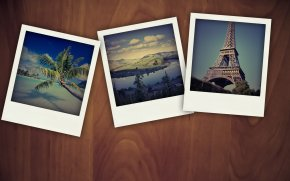 Polaroid - Photographic Film Instant Camera Stock Photography PNG