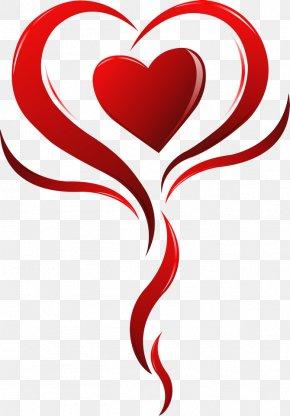 Valentine's Day - Valentine's Day Line Flower Clip Art PNG