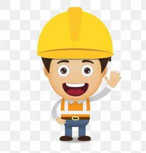 Construction Worker - Cartoon Laborer Construction Worker Euclidean Vector PNG