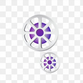 White Circle Round Material - Circle PNG