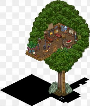 Tree House - Habbo Tree House Sulake PNG