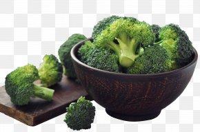 A Bowl Of Broccoli - Raw Foodism Broccoli Slaw Organic Food Vegetable PNG