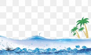 Sea - Summer Fundal Poster PNG