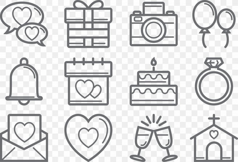 Wedding Marriage Echtpaar Icon, PNG, 4830x3292px, Wedding, Area, Auto Part, Black And White, Bride Download Free