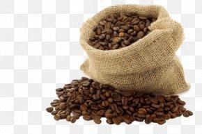 Coffee - Instant Coffee Coffee Bag Gunny Sack Coffee Bean PNG