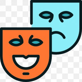 Mask - Mask Tragedy Theatre Drama Comedy PNG