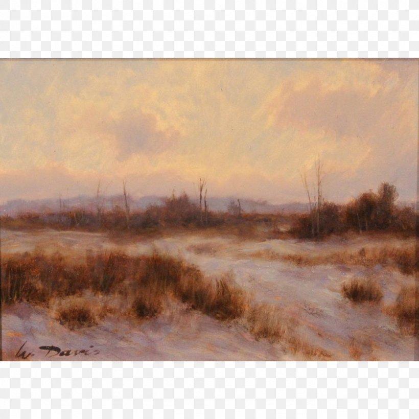 Salt Marsh Watercolor Painting Inlet Loch, PNG, 1024x1024px, Salt Marsh, Bank, Bayou, Bog, Dawn Download Free