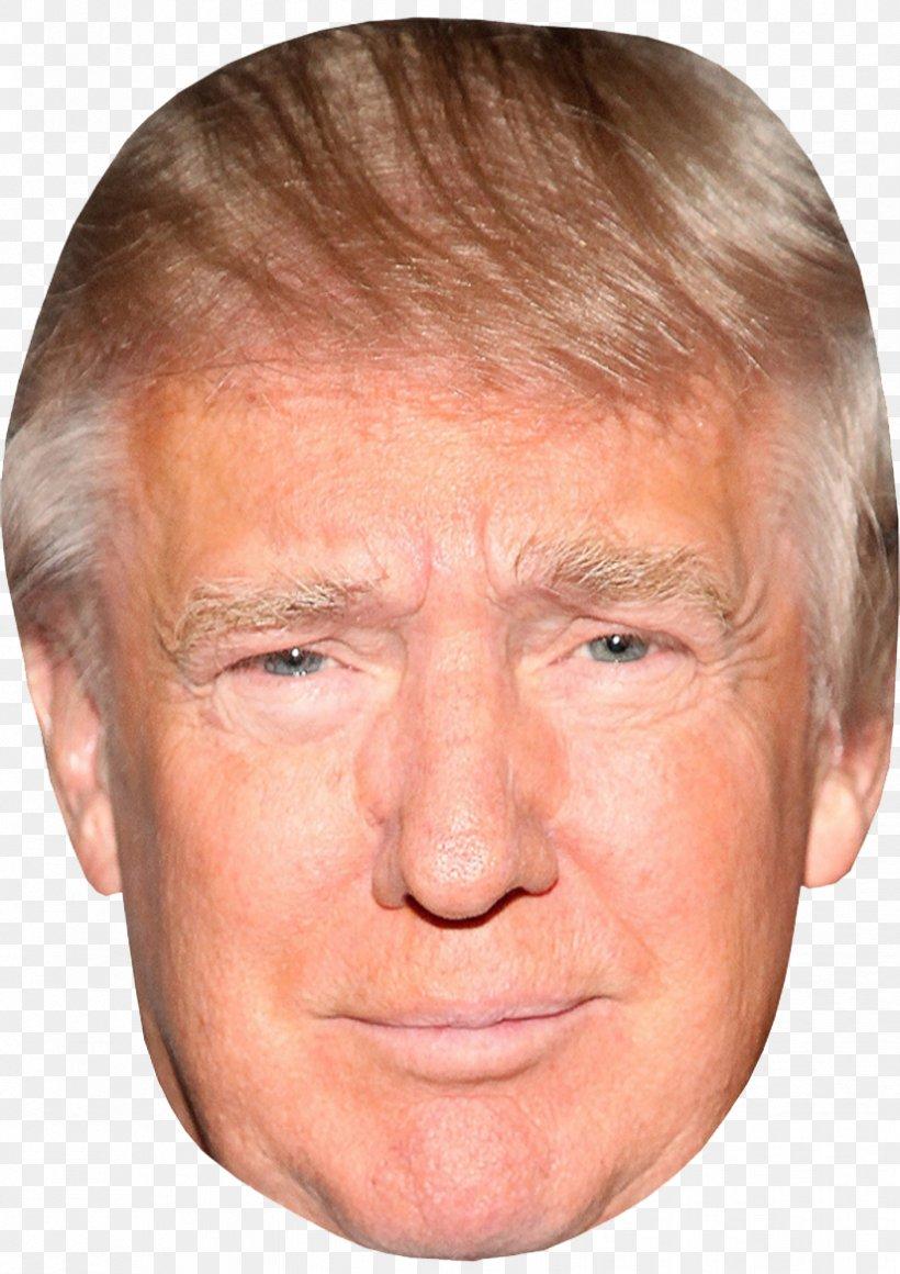 Donald Trump United States Amazon.com Mask Celebrity, PNG, 826x1169px, Donald Trump, Amazoncom, Celebrity, Cheek, Chin Download Free