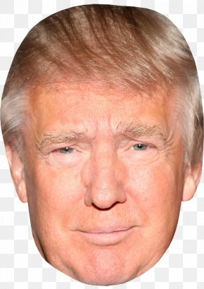 Trump Front Face Transparent - Donald Trump United States Amazon.com Mask Celebrity PNG