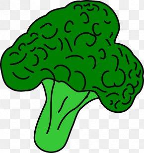 Cartoon Fresh Spring Grove - Broccoli Vegetable Clip Art PNG