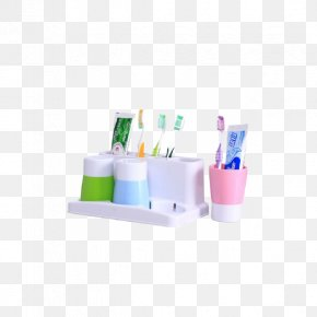 House Small House Was A Family Of Three Wash Cup Toothbrush Cup Toothbrush Holder Suit - Electric Toothbrush Cup PNG