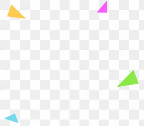 Irregular Pink Blue Triangle - Triangle Area Pattern PNG