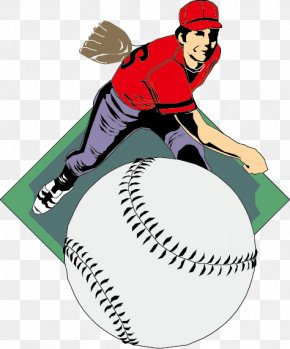 Baseball - Baseball Pitcher Clip Art PNG