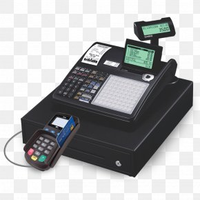 Business - Cash Register Point Of Sale Cashier Money Small Business PNG
