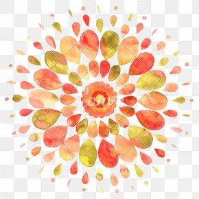 Watercolor Mandala - Watercolour Flowers Desktop Wallpaper Watercolor Painting Drawing Art PNG
