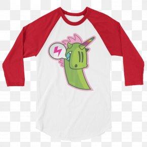 Creative Holiday T-shirt Mockup - T-shirt Hoodie Raglan Sleeve PNG