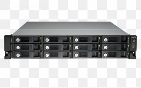 QNAP TVS-1271U-RP Network Storage Systems QNAP Systems, Inc. Data Storage Backup PNG