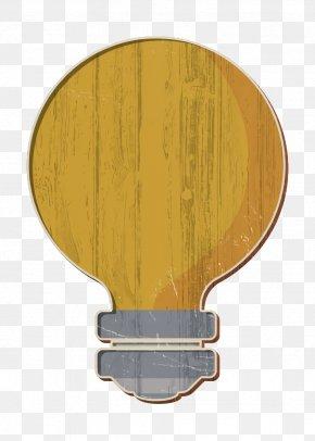 Yellow Thinking Icon - Creative Icon Design Icon Idea Icon PNG