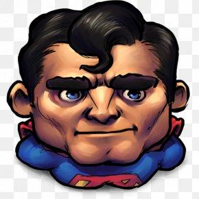 Comics Older Superman - Human Behavior Head Superhero Jaw Clip Art PNG