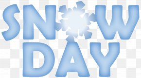 Snow Day Cliparts - Snow School Clip Art PNG