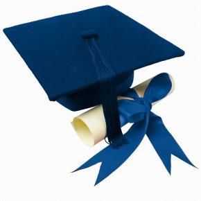 Graduation - Square Academic Cap Graduation Ceremony Blue Clip Art PNG