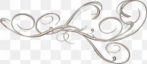 Arabesc - Vignette Curlicue Clip Art PNG