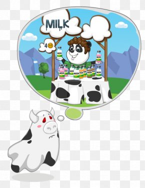 Cow's Milk - Technology Animal Clip Art PNG