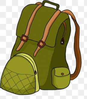 Hiker Cliparts Transparent - Backpack Hiking Camping Clip Art PNG
