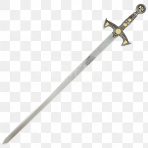 Knight Sword Transparent Background - Crusades Sword Knights Templar Middle Ages PNG