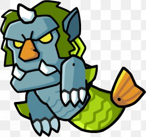 Troll - Scribblenauts Unlimited Scribblenauts Remix Poseidon Wiki PNG