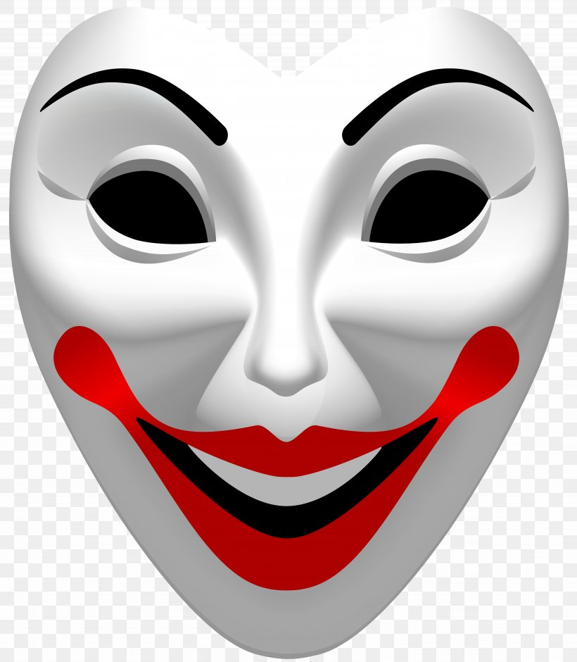 Joker Mask Clip Art, PNG, 6978x8000px, Mask, Anonymity, Carnival, Designer, Disguise Download Free