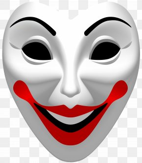 Joker Mask Clip Art - Joker Mask Clip Art PNG