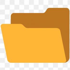 TXT File - Emoji File Folders Directory PNG