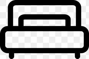 M LineBedroom Clip Art Svg - Clip Art Product Design Black & White PNG