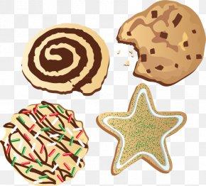 Christmas Cookies Vector Material - Rice Krispies Treats Dim Sum Food Cookie Christmas PNG