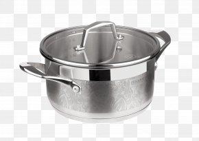 Cooking Pan Image - Stock Pot Kovsh Tableware Stainless Steel Lid PNG