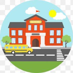 Cartoon School Bus - Secondary Education National Secondary School Student PNG
