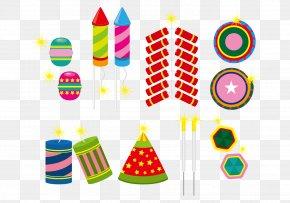 Vector Fireworks - Fireworks Firecracker Clip Art PNG