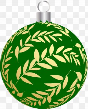 Christmas - Christmas Ornament Circle Clip Art PNG