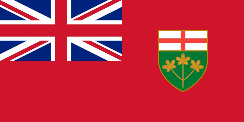 Flag Of Ontario Flag Of Canada Flag Of Manitoba Canadian Red Ensign, PNG, 1024x512px, Flag Of Ontario, Area, Brand, British Ensign, Canada Download Free