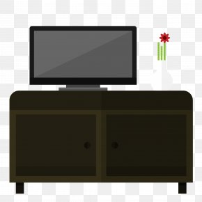 Vector TV Cabinet - Satellite Television Cabinetry PNG