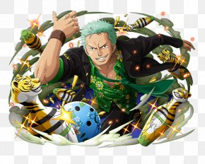 Roronoa Zoro One Piece - Roronoa Zoro One Piece Treasure Cruise Dracule Mihawk Trafalgar D. Water Law Monkey D. Luffy PNG