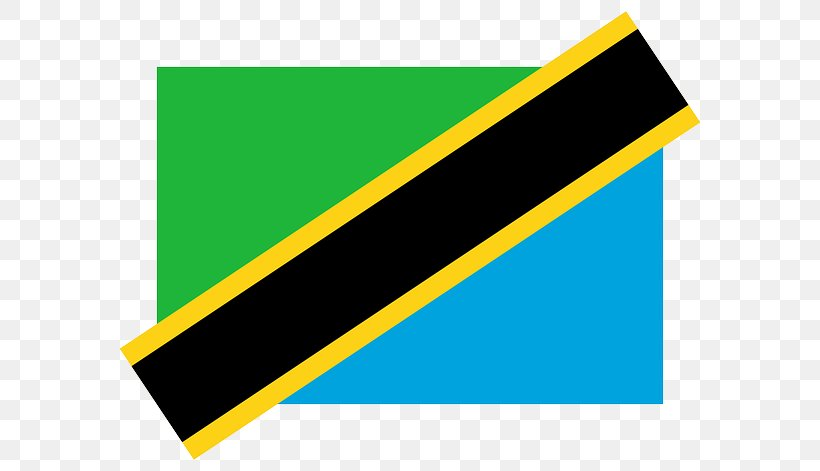Flag Of Tanzania Vector Graphics Gallery Of Sovereign State Flags, PNG, 640x471px, Flag Of Tanzania, Brand, Flag, Gallery Of Sovereign State Flags, Green Download Free