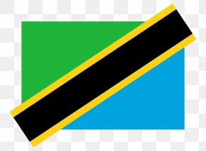 Tanzania National Flag - Flag Of Tanzania Vector Graphics Gallery Of Sovereign State Flags PNG