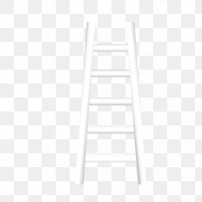 White Stairs - Line Black And White Angle Point Pattern PNG