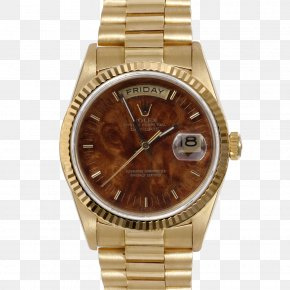 Rolex - Rolex Day-Date Watch Rolex President Perpetual Day-Date Colored Gold PNG
