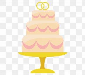 Three Beautiful Wedding Cake Vector Material - Sugar Cake Cake Decorating Buttercream Wedding Ceremony Supply PNG